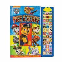 Paw Patrol Sound Storybook Treasury by PI Kids Hardback NEW Book