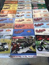 18 CUSHMAN MOTOR SCOOTER MAGAZINES Cushman Club America 2004 2005 2006 Complete