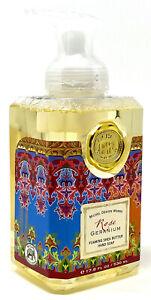 Michel Design Works Rose Geranium Foaming Hand Soap 17.8 OZ.