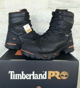 """Timberland PRO 8"""" Endurance Steel Toe IN WP Work Boots Size 11 Wide 95567 $195"""