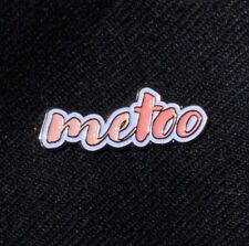 MeToo Movement Gold Lapel Pin to Raise Funds for Rainn