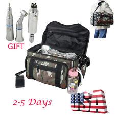 Portable Mobile Dental Unit Treatment Bag Air Compressor Syringe handpiece 4H/2H