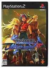 Wild Arms Alter Code F PlayStation2 Japan Ver.