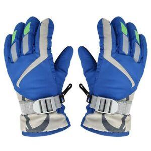 sale Outdoors Ski Gloves Kids Children Winter Warm Snowboard Full Finger Mittens