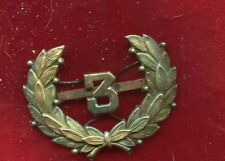 RARE! Early  Police  Dept  HAT Badge - Historic & Obsolete  no. 3
