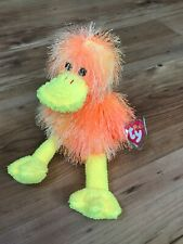TY Punkies - FLIPFLOP the Duck - Stuffed Animal Toy. NEW WITH TAG PROTECTOR