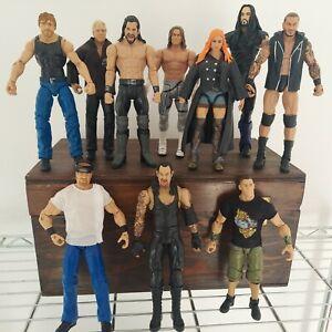 WWE Ambrose Orton Undertaker cena Undertaker Lot (10) Mattel WWE Wrestling Loose