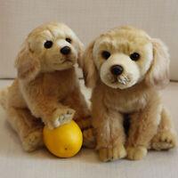 Cute Lifelike Realistic Plush Labrador Retriever Dog Toy Soft Stuffed Kids Gift