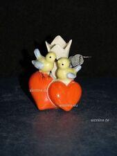 +#A016004_06 Goebel Arbeitsmuster 56-034 kleine Vase für 1 Blume mit 2 Vögeln