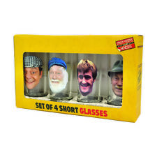 Only Fools and Horses Official SHORT GLASS SET in presentation box