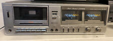 Fisher Cr-110 Stereo Cassette Tape Deck Studio Standard Working! Free shipping!