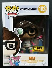 FUNKO POP OVERWATCH SERIES MEI MID BLIZZARD HOT TOPIC EXCLUSIVE