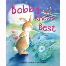 Large Childrens Bedtime Story Bobby Knows Best Bunny Picture Book Kids Gift 2471