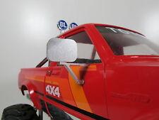 Pair Aluminum L/R Side Mirror Fit Tamiya RC 1/10 Hilux Clodbuster Brat Blackfoot