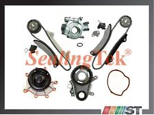 Fit 04-13 Dodge Jeep 3.7L V6 Engine Timing Chain Kit w/ Water Oil Pump NGC Gear