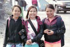 Modern Girls of Greenland, Native North American Inuit Today, Postcard Postkarte