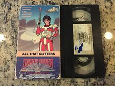 SABER RIDER AND THE STAR SHERIFFS ALL THAT GLITTERS RARE OOP VHS 1987 ANIME KIDS
