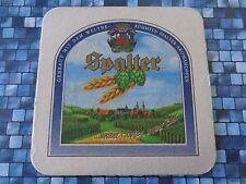 Beer Coaster ~ Stadtbrauerei Spalt Spalter Bier ~ Bavaria, GERMANY ~^~ Hop Queen