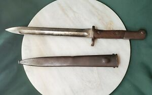 Vintage czech vayonet with scabbard