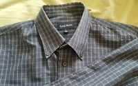 Gazman Men's Check Long Sleeve Shirt Size Large vgc