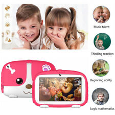 7'' Kids Tablets 8GB Quad Core Android 6.0 WiFi Camera HD Display Games PC Gifts