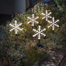 Konstsmide Led-leuchtstäbenset Schneeflocken
