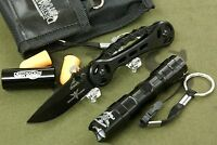STURGIS MOTORCYCLE RALLY SMALL SURVIVAL KIT. Includes knife, LED, and Ear Plugs.