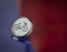 Retro Bike Bicycle Cycling Lapel/Tie Pin Badge