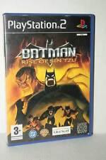 BATMAN RISE OF SIN TZU GIOCO USATO PS2 VERSIONE ITALIANA GD1 45866
