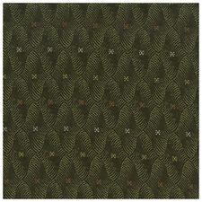 Brown Green Geometric Crypton Incase Upholstery Fabric 0267410