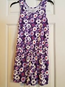 Unbranded One Size Purple Floral Sleeveless Romper Jumpsuit BRAND NEW NWOT