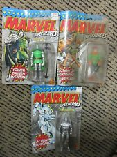 VINTAGE GREAT CONDITION LOT of 3 Marvel Super Heroes Action Figures Toy Biz READ