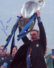 José Mourinho - Inter Milan - Champions League - Signed Autograph REPRINT