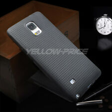 Samsung Galaxy Note 4 Matte Case + Black Flat Micro USB Charge Sync Cable+ Film