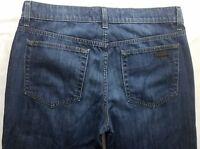Joe's Jeans Rebel Mens Blue Denim Size 32 x 34 Dark Wash Straight Leg Zipper Fly