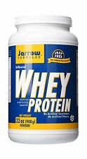 Jarrow Formulas Whey Protein Supports Muscle Development Unflav... Free Shipping