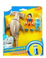 Hammerhead Shark & Snorkeler Imaginext Shark Series Figures