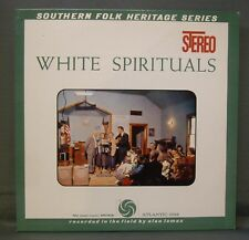 Alan Lomax Series Southern White Spirituals Atlantic 1349 Stereo Mint- Insert