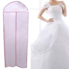 155cm Waterproof Wedding Dress Bridal Gown Garment Cover Storage Bag Carrier Zip