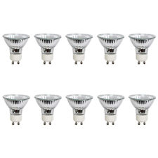 10x Halogenlampe Reflektor 50W GU10 Alu 230V warmweiß dimmbar Strahler flood 38°