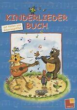 Kinderliederbuch: Mit Noten und Gitarrengriffen | Buch | Zustand gut