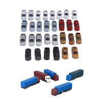 30pcs Echelle Z: 1: 200 Voiture Enfant Camion Transporteur de Petites Voitures