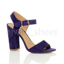 Sandali e scarpe blocchetti blu casual per il mare da donna