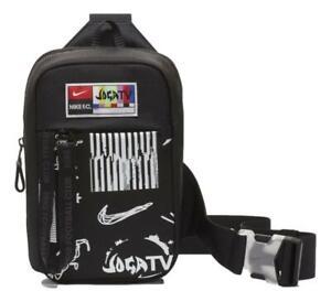 Nike F.C. Essentials Soccer Fanny Pack Crossbody Bag Small (Black) CW7174-011