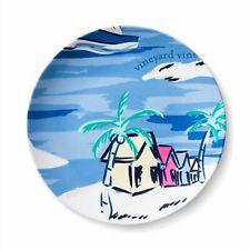 """New listing Vineyard Vines for Target 6.75"""" Island Scene Melamine Appetizer Plate - Bpa Free"""