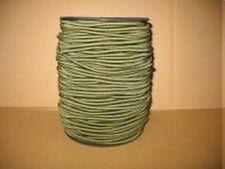 cordon elastique rond ø 3 mm VERT KAKI  lot de 5 mètres
