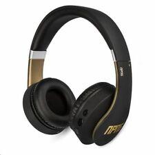 Veho NPNG Np-2 Bluetooth Over-ear Headphones Stereo Mic Black and Gold