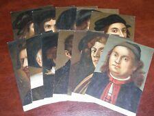 More details for original collection of twelve italian postcards - famous painters.