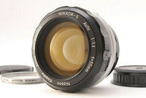 *Exc+++++* Nikon Nikkor-S Auto 55mm f/1.2 non-Ai MF Standard Lens From JAPAN