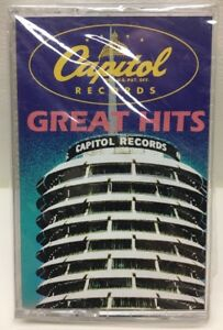 Capital Records Great Hits Item # 15919 CASSETTE Tape New Sealed S41-18807
